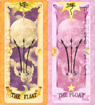 Clow and Sakura Cards The Float ((Manga)) by Earthstar01