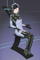 Tron Girl by shed2602