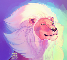 Lion by Anti-Dark-Heart