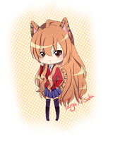 Taiga Aisaka button by DiscoJay