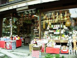 Japan Snapshot: Neko shop by Risachantag