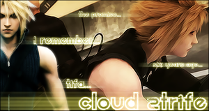 Cloud Strife Sing by snakeff7