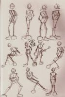 Figure poses by GrimReaperMay