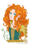 Merida Dunbroch by NKCosplay-arts