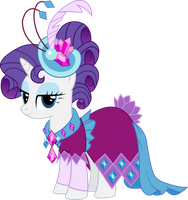 Rarity in Gala Dress by InfiniteWarlock