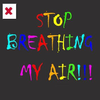 how to stop thinking about my breathing