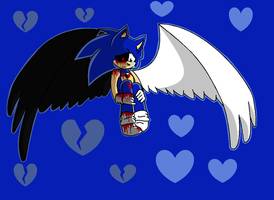 Sonic.EXE Angel or Demon? by Silonadow