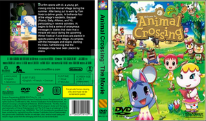 Animal Crossing The Movie US DVD Full Cover (2016) by maxiandrew