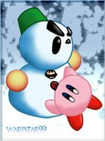 Chilly and Kirby by warpstar99
