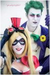 Harley Quinn Joker cosplay by Elis90