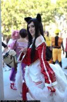 Ahri cosplay by spacechocolates