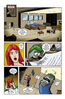 Ed the Sock comic pg 2 by KeirenSmith