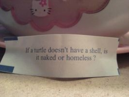 Philosoraptor Fortune Cookie by LaceyAlaynna