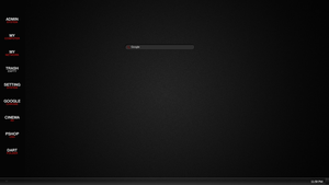My Minimal Desktop by solutionall