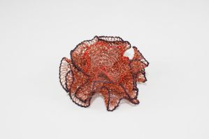 Dianthus Brooch by CopperMoth