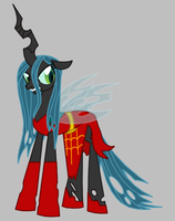 Queen Chrysalis as The Contessa by Death-Driver-5000