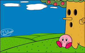 Kirby Relaxes by Bbop800