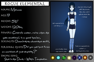 Rogue Elements Profile thingy by RobotsWithCookies