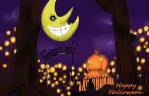 Happy Halloween Background by SunsetSovereign