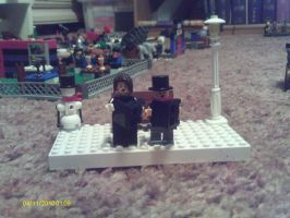Lego Christmas: Carolers by Tough-and-Heartless