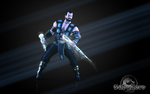 Sub-Zero MKX KS5 render Wallpaper by ArRoW-4-U