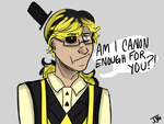 Canon Bill Cipher by kittyGLaD