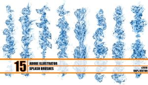 Hydronix -- vector splash pack by r2010