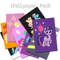 iOS Pony Wallpaper Pack 1 by FozzyWig