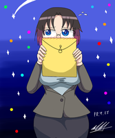 Office lady Elma by NeutralChilean