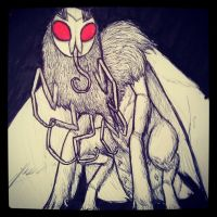The Mothman by D-Is-For-Dada