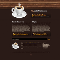 irCoffe Download Page by Svengraph