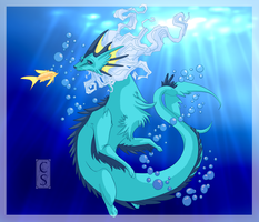 Vaporeon by Mythka