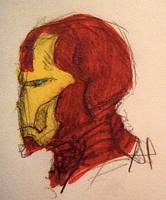Profile Iron Man by Foxnoir6
