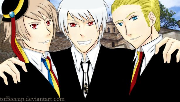 APH: Romania Prussia Germany by toffeecup