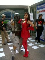 The Flash Girl and member of the 501st Legion by juliettebelle