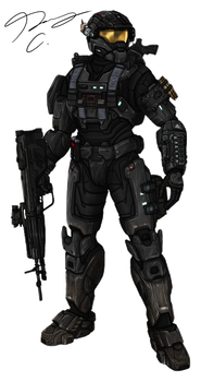 Commission - Spartan MrSkits by Guyver89