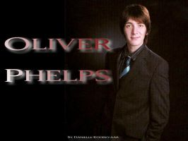 Oliver Phelps Wallpaper 1 by daniellekoorevaar