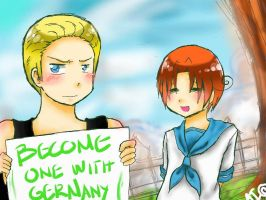 One With Germany by dattebanyan-I