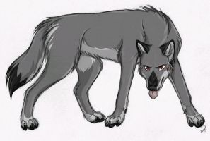 Trade for Bloodwolf666 by IsolatedHowl