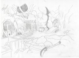 THE SEVEN DWARFS MINE by Angels-Pixie-D
