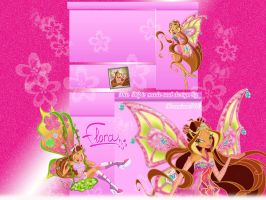 Flora Youtube BG by xXLolipopGurlXx