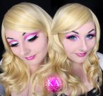 Barbie Makeup w/ Tutorial by KatieAlves