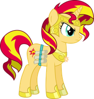 ED Sunset Shimmer, Faithful Student by RuinedOmega