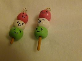Dango Charms :D by blueelolita