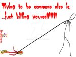 Don't Kill yourself... by d1pran