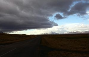 Clouds over Road by NikolaiMalykh