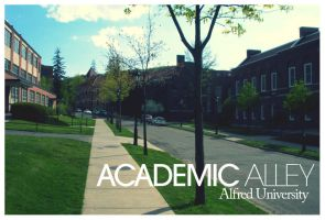Academic Alley by blueslaad