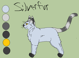 Silverfur Ref. by Ink--Chan