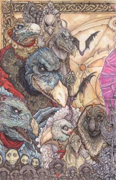 The Dark Crystal The Skeksis by ChrisOzFulton