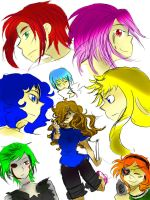 Me and my characters~!! by sonic5440